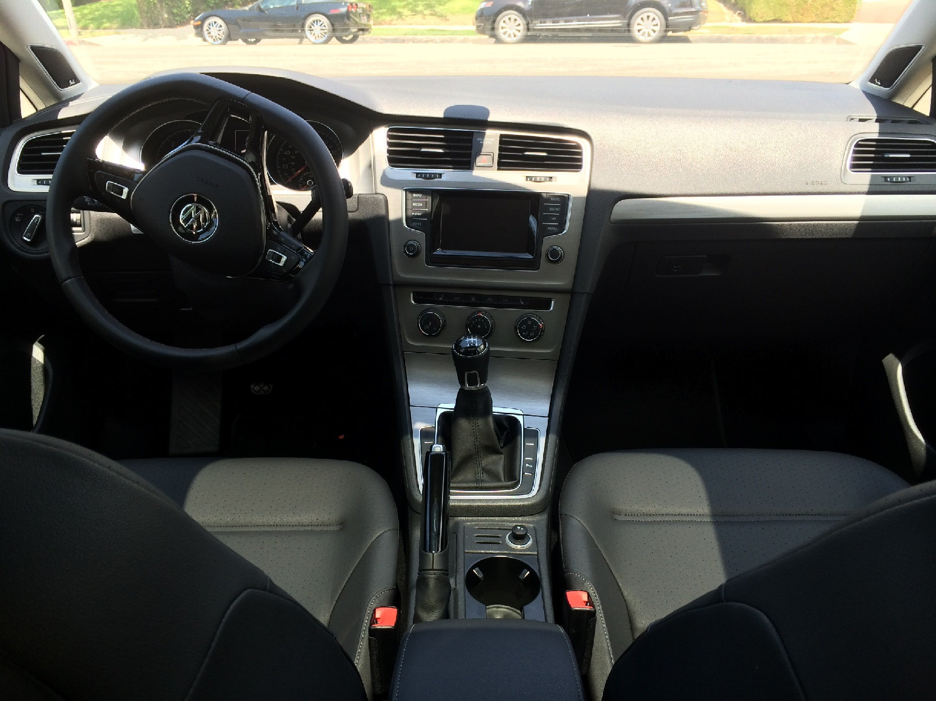 Volkswagen Golf TDI Interior