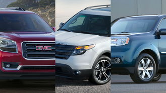 Best Mid-Size SUVs for 2013 - CarsDirect