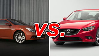2015 nissan altima sl versus mazda 6 grand touring autos. Black Bedroom Furniture Sets. Home Design Ideas