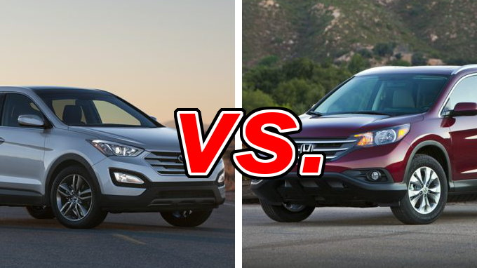hyundai santa fe sport vs honda cr v carsdirect