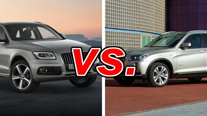 Audi q5 vs bmw x3 carsdirect for Honda cr v vs bmw x3