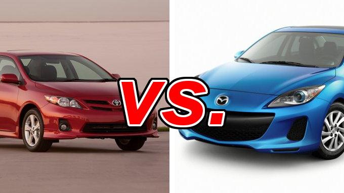 Toyota corolla vs mazda mazda3 carsdirect for Mazda vs honda reliability