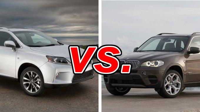 Lexus RX 350 Vs BMW X5 CarsDirect