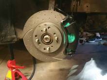 brakes fitted