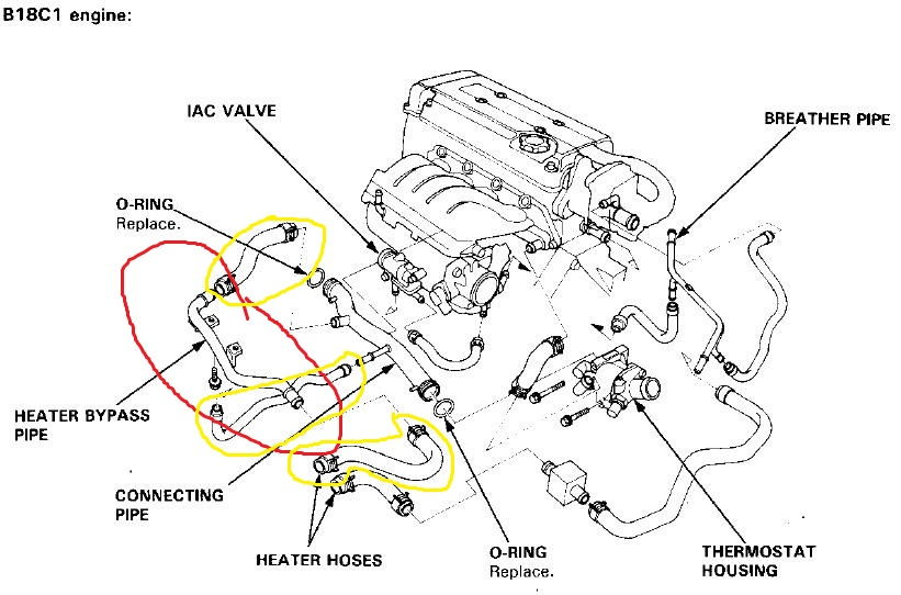 1992 honda accord starter wiring diagram with Heater Hoses Help 3257039 on 92 95 Wiper Motor Self Parking Switch Operational Questions 3260556 together with 1996 Accord Lx Ex P0453 Pressure Tank Sensor 2861451 additionally 99 00 Civic Oem Radio Wiring Diagram 3230120 in addition 95 Civic Fuel Pump Wont Prime 3253681 furthermore Oil Pressure Gauge Wiring 623940.