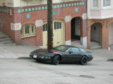 C4 Vette and 89 Gt