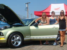 2005 mustang legend lime