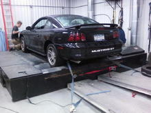 old dyno day, awd mustang dyno