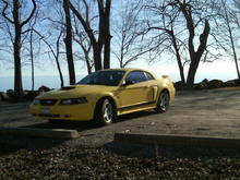 My old GT at Lake Erie
