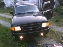 When I got done the bumper