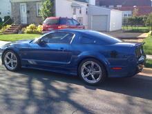 My S281 Saleen Mustang