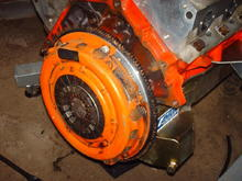 findanza 50 oz flywheel and centerforce clutch