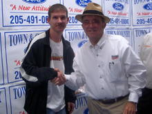 Meeting Jack Roush in Alabama