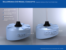 Comp Rendering Antenna Cover