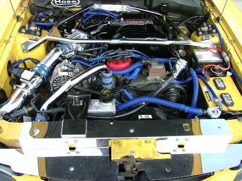Engine after build.
