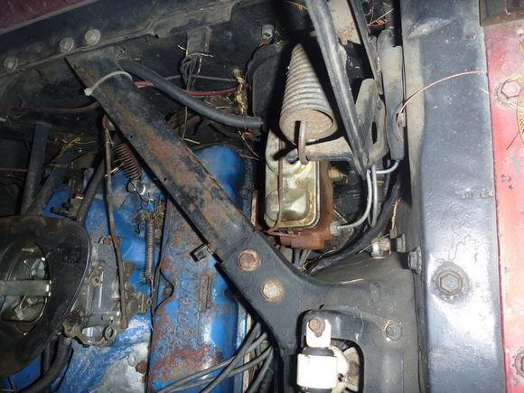 Power disc brake conversion