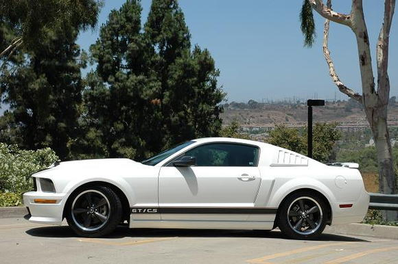 """The Bullitt wheels make a huge difference over the stock 18"""" polished."""