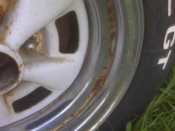 untouched Rear wheel