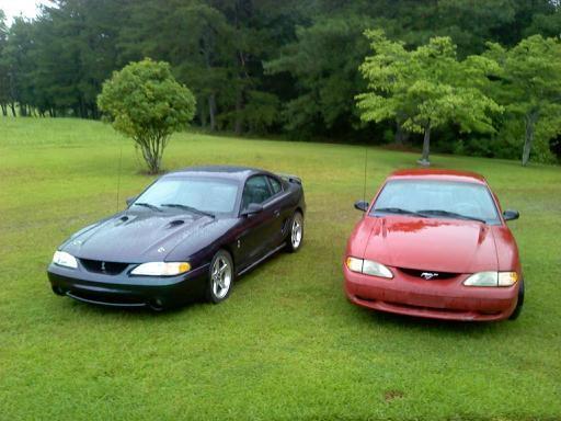 1996 Mystic Cobra and 1994 GT