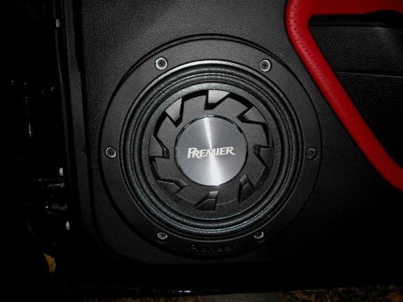 Pioneer Premier Sub Installed