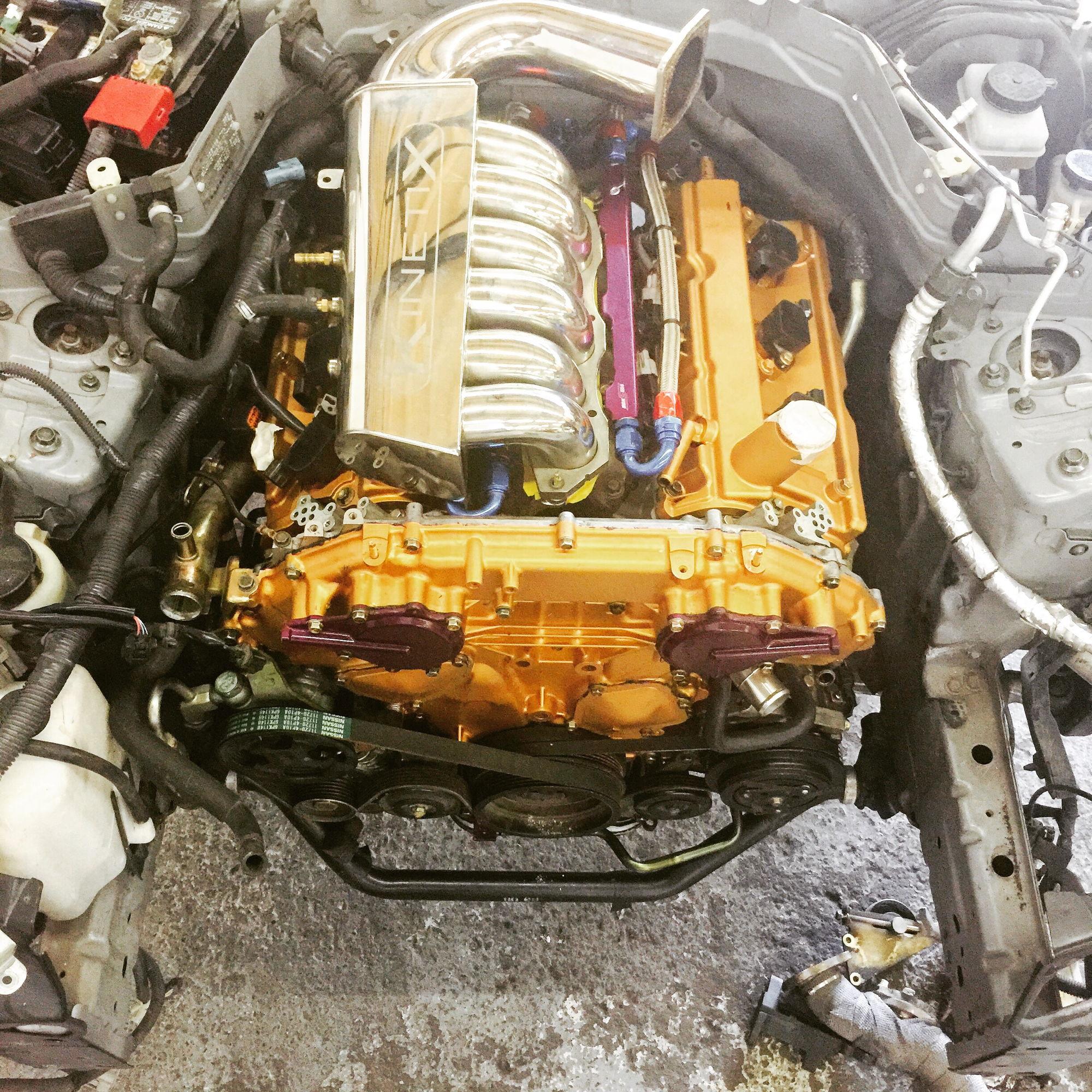 350z vq35de Gold engine boosted Z