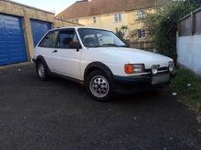 My Fiesta Mk2 XR2.