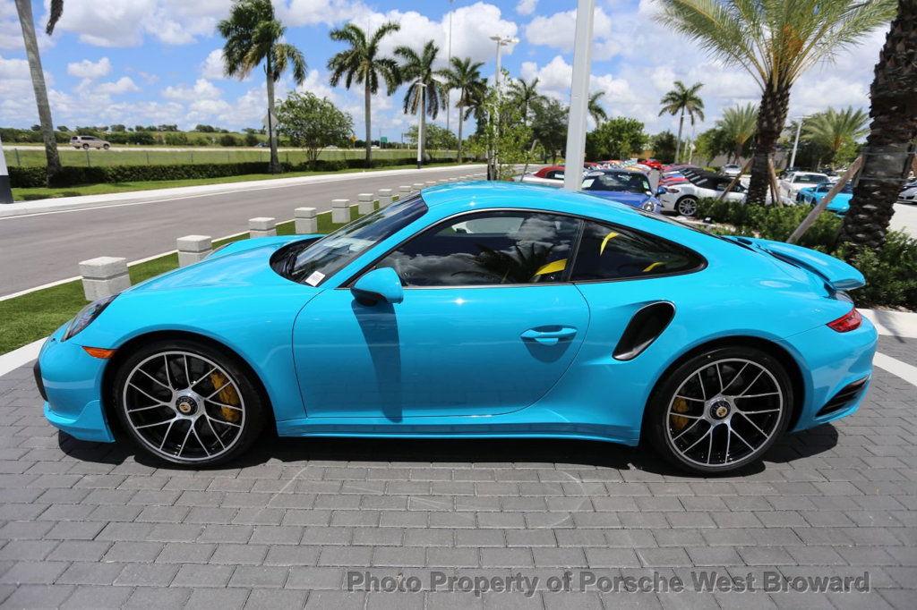 Dealer Inventory Miami Blue 2017 Porsche 911 Turbo S Rennlist Discussion Forums
