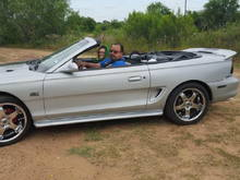 My Silver and Black 95 Mustang Gt Convertible 2016-11-01 23:51:13