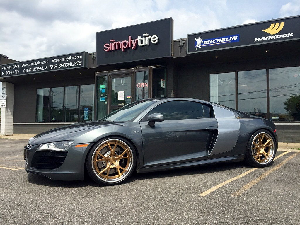 Audi R8 Velos S3 Forged Wheels