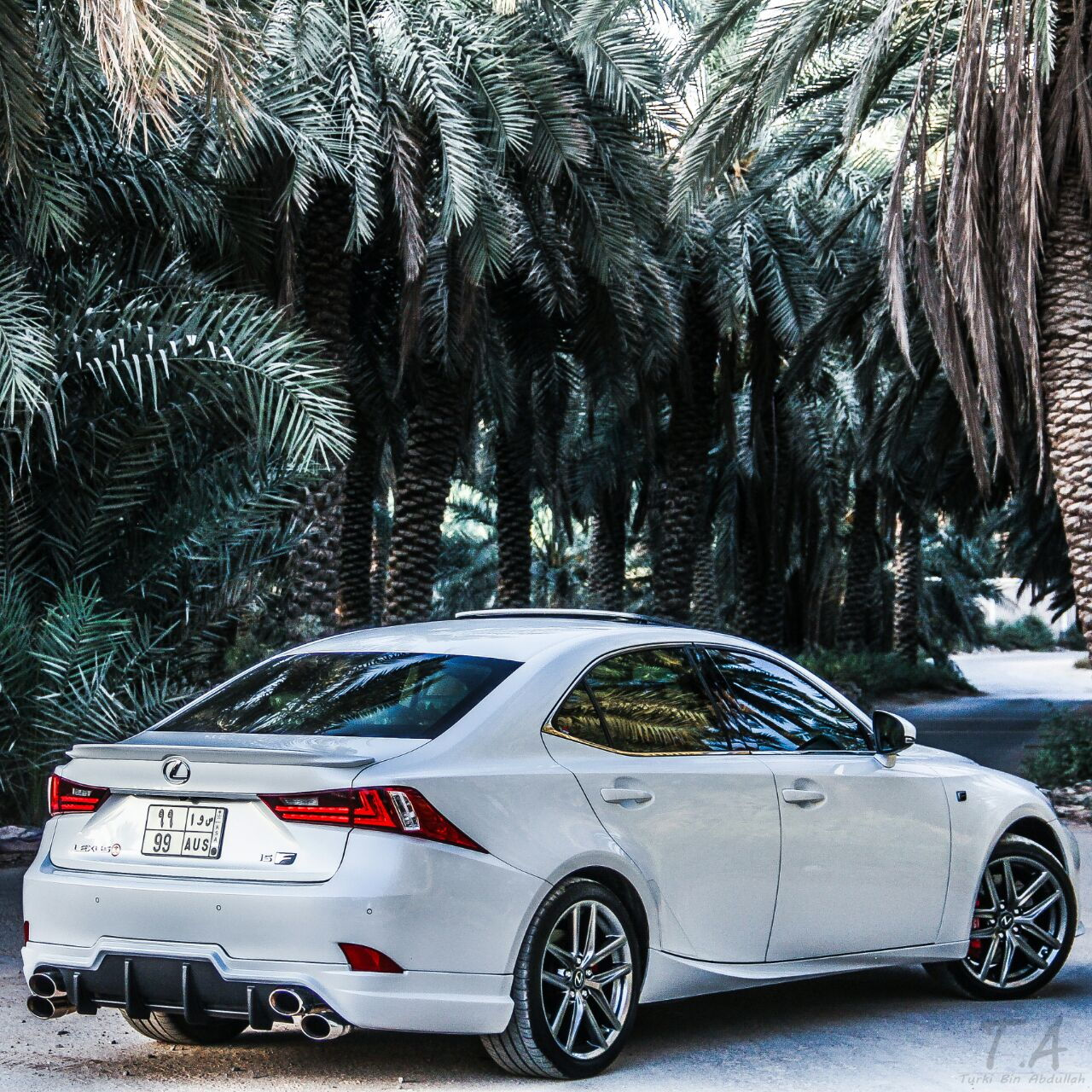 "Used Lexus Is350: 2016 IS350 F Sport Ques. On ""Quad Exhaust Tips"""