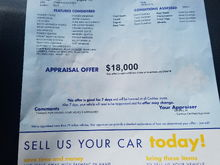 Ill take 19,000 or I'm going to carmax