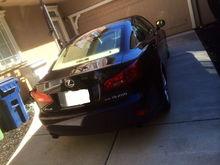 Garage - Wife's Car
