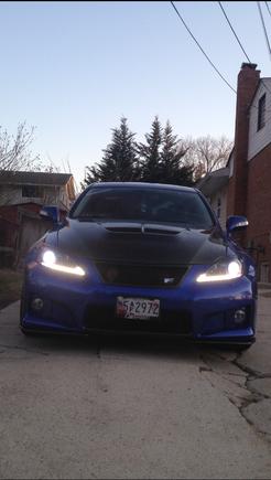 Headlight swap