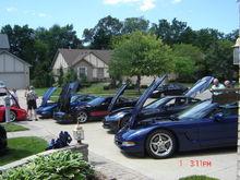 tony k corvette party