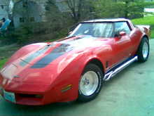 My mostly 81 Corvette