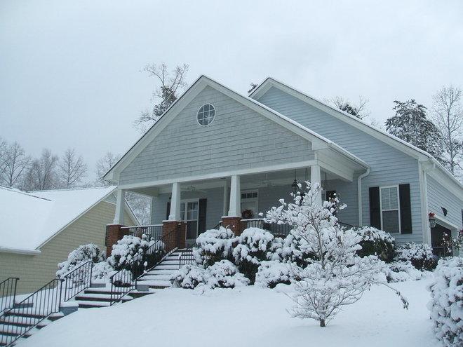 Beautiful Christmas Day 2010 snow