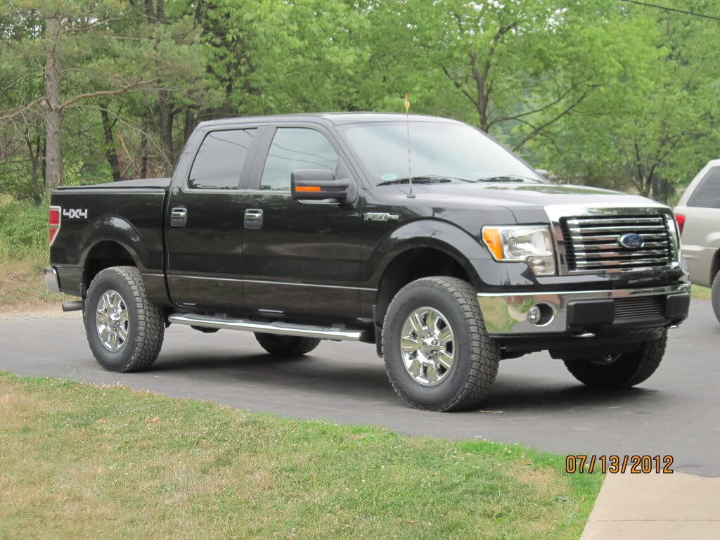 2014 f150 leveling kit with 35 autos post. Black Bedroom Furniture Sets. Home Design Ideas