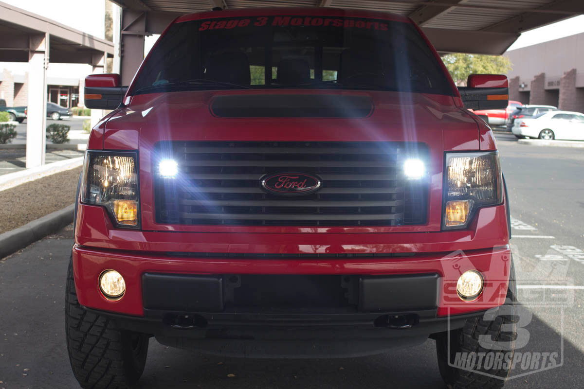 How Did You Mount Your Led Cubes Ford F150 Forum