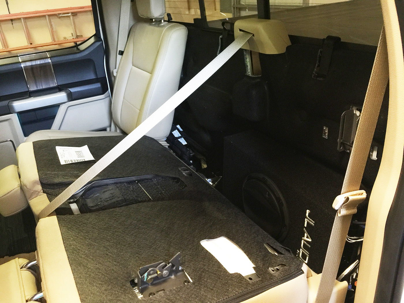 Wiring A Sub Subwoofer And Amplifier In 2015 F 150 No