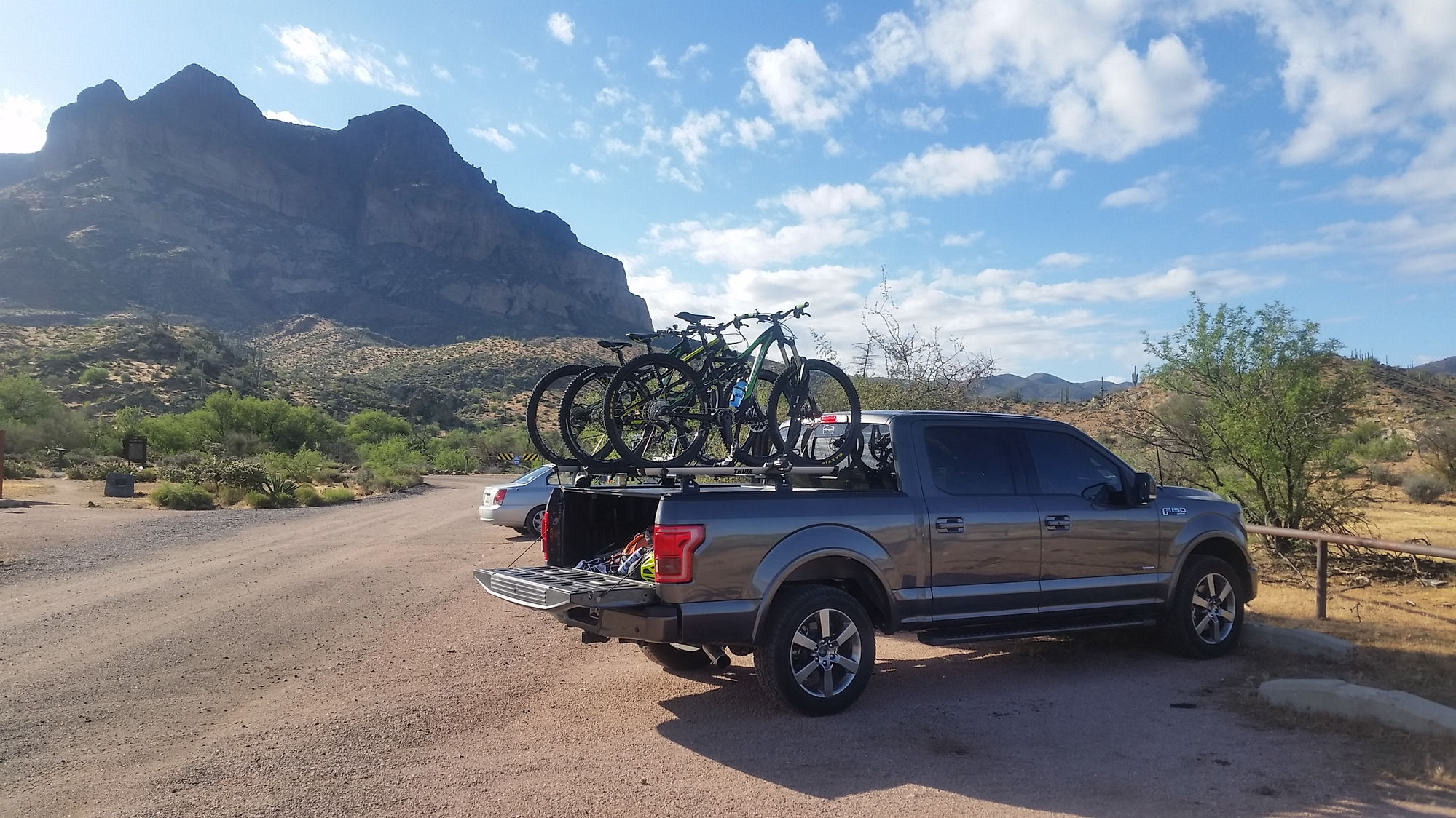Ford F150 Rack >> Hard Shell Bed Cover and Yakima Roof Rack - Ford F150 Forum - Community of Ford Truck Fans