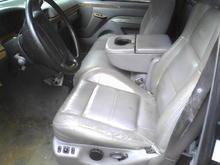 Interior Image  leather interior