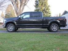 "2015 Ford F-150 Lariat FX4. Custom Built front bumper. 20"" street legal light bar. 30"" light bar..."