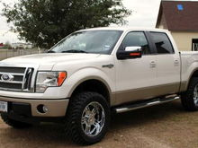 2010 F150 King Ranch (White Platinum)