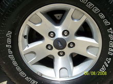 Drilled and slotted rotors