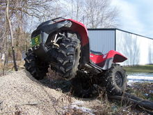 2008 suzuki king quad 750 on 27s