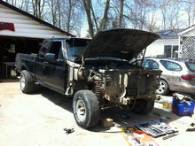 1995 F150 project PART II (straight axle swap)
