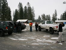 Getting together with a few friends at 7 Mile ORV Park, New Years day 2013.