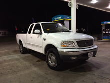 my 99 f150 4x4 the day after i got it