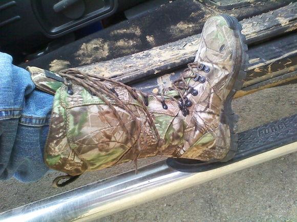 new muddin boots