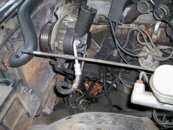 Pump removal